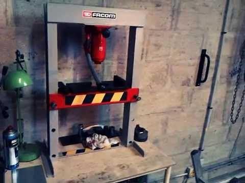 fabriquer une presse hydraulique pas chére