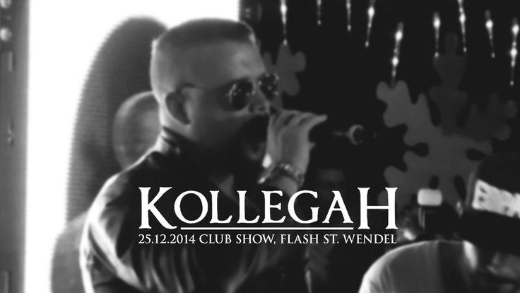 Kollegah • Club Show • Flash, St. #Wendel 25.12.2014  #Saarland Setlist: 00:00 Dynamit 02:00 Big Boss 04:17 RIP 07:13 Lamborghini Kickdown 10:11 AKs im Wandschrank 12:56 Flightmode 15:30 Egoist 17:54 Du bist Boss 20:34 Flex, Sluts, Rock-n-Roll 23:40 King 25:54 Vom Salat schrumpft der Bizeps 28:48 Wat is denn los mir dir?  25.12.2014 Club Show Kollegah St. #Wendel #Saarland http://saar.city/?p=23194