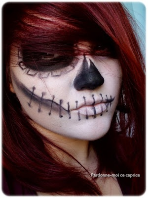 Haunting Halloween Make-up | Pardonne-moi ce caprice
