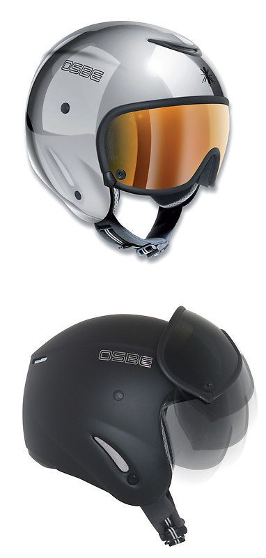 Protective Gear 36260: Osbe Bellagio Silver Chrome Ski And Snowboard Helmet Size M BUY IT NOW ONLY: $210.0