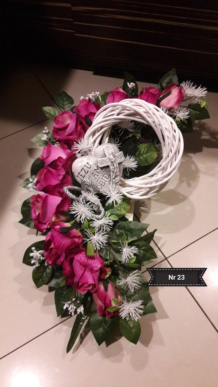 Kompozycja/florystyka nagrobna 2017 wyk. Sylwia Wołoszynek