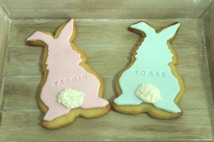 bunnie easter cookies