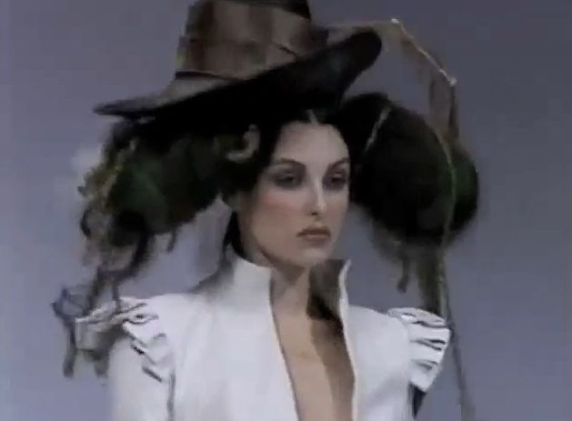 John Galliano collection at Paris Fashion Week in 1994