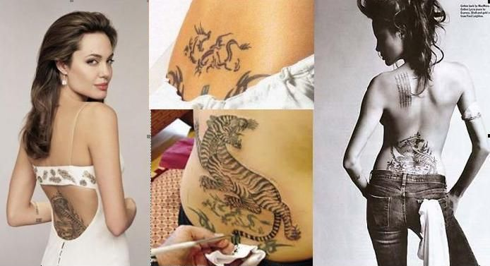 """Actress Angelina Jolie, who filed for divorce from Brad Pitt last month, is reportedly eager to remove all tattoos related to him. According to a source, Jolie wants to remove all the inklings she has related to Pitt """"as soon as possible"""" and wants to """"erase any negativity"""" surrounding her, reports aceshowbiz.com. """"Angie's tattoos are … Continue reading """"In PIcs : Angelina Jolie wants To Remove All Pitt-Related Tattoos"""""""