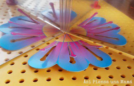 Experimentos para hacer en casa; ciencia casera; jugando a experimentar con efectos opticos; ciencia para niños. Science for kids; playing with science at home