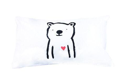 Sweetheart Bear Pillowcase - Single