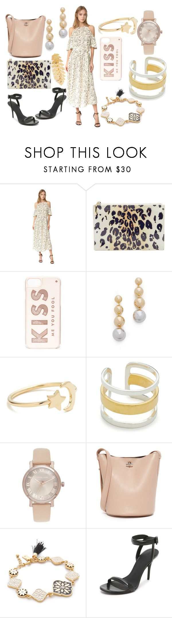 """Occasionally perfect"" by hillarymaguire ❤ liked on Polyvore featuring Lela Rose, Kate Spade, Elizabeth and James, Ariel Gordon, Maya Magal, Michael Kors, Rochas, Alexander Wang, Avigail Adam and fabulous"
