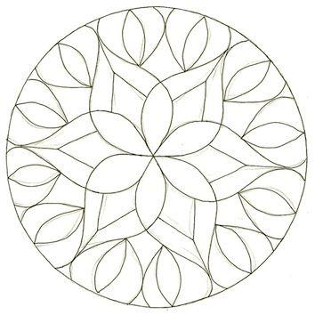 Enthusiastic Artist: Dot stencil zendalas