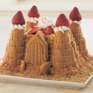 Vanilla Sandcastle Cake recipe