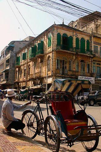 Phnom penh - Cambodge © michel BORDIEU