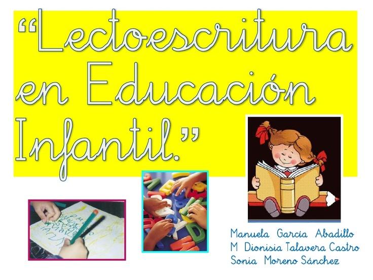 Lectoescritura Recursos Muy Buenos