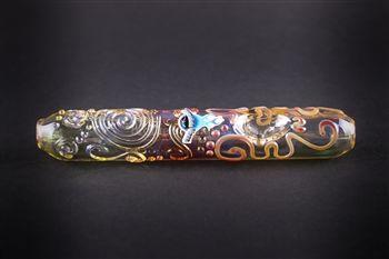 Chameleon Glass Kobaya Ashi Maru Steamroller Pipe