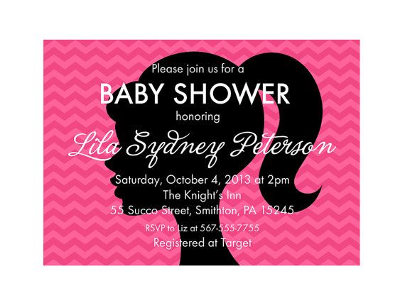 about barbie baby shower on pinterest cute baby shower ideas barbie