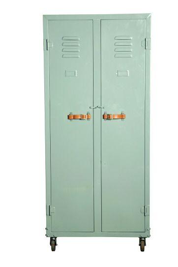 Love the locker storage