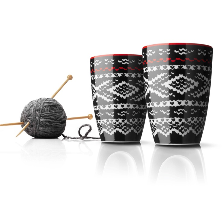 No it is not made by wool:) Cool porcelain thermo cups from Menu, 2 pcs.  Home decor, Design cups, RoyalDesign.com $44