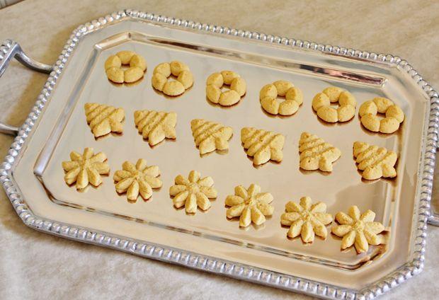 Spritz Cookies , gluten free