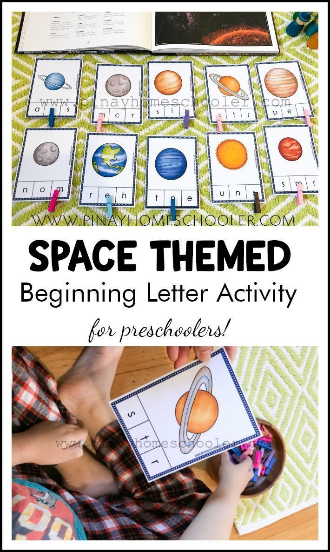 Solar System And Space Preschool Mini Unit Space Activities Preschool Space Preschool Space Activities For Kids [ 1186 x 710 Pixel ]