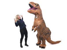 Hobby & Fritid - Oppusteligt T-Rex Kostume,