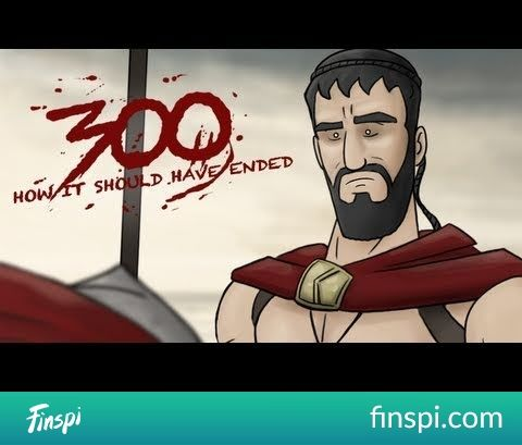 How 300 Should Have Ended #funny #how it should have ended