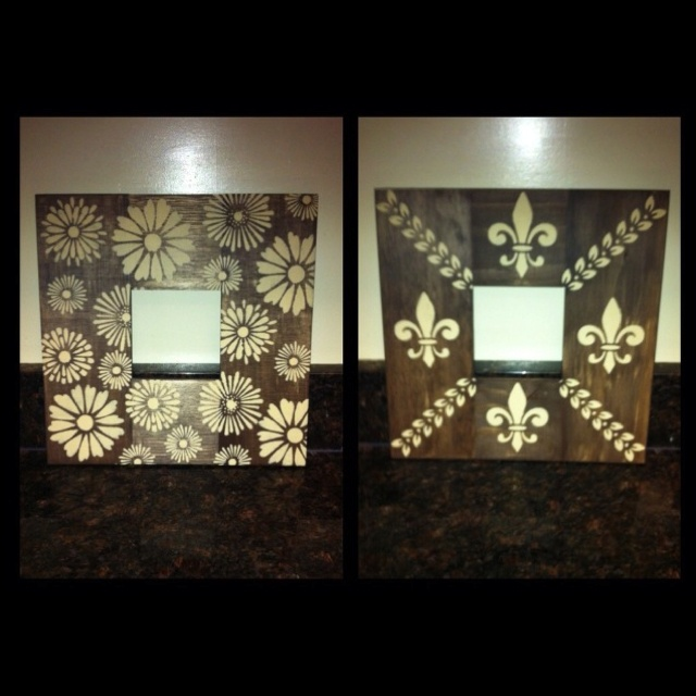 made these tonight for craft night wa girlfriend buy unfinished wood frames