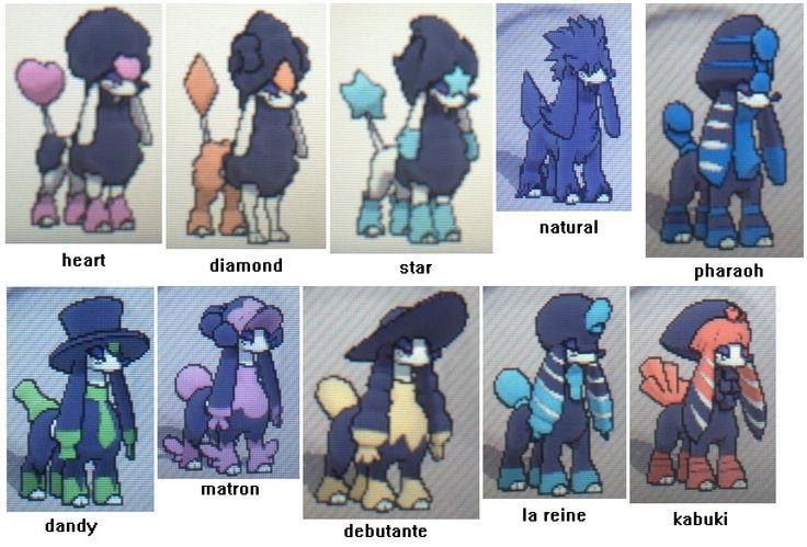 Furfrou Style Names (1220×828) | pokemon | Pinterest | Pokemon, Style ...
