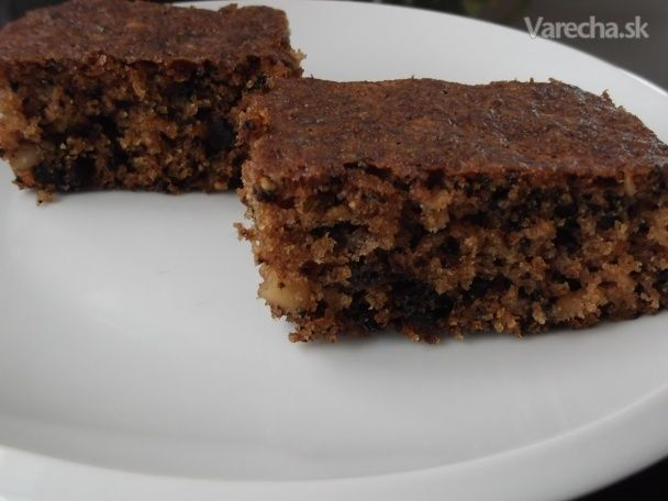 Orechový hrnčekový koláč - Recept