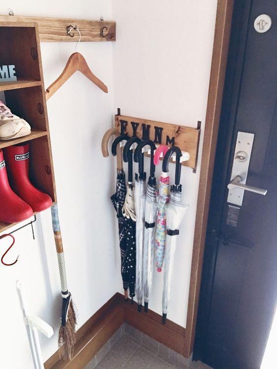 ☆100均グッズを使った傘収納アイデア☆ LIMIA (リミア)