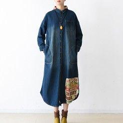 2016 winter denim dresses casual plus size jeans outwear