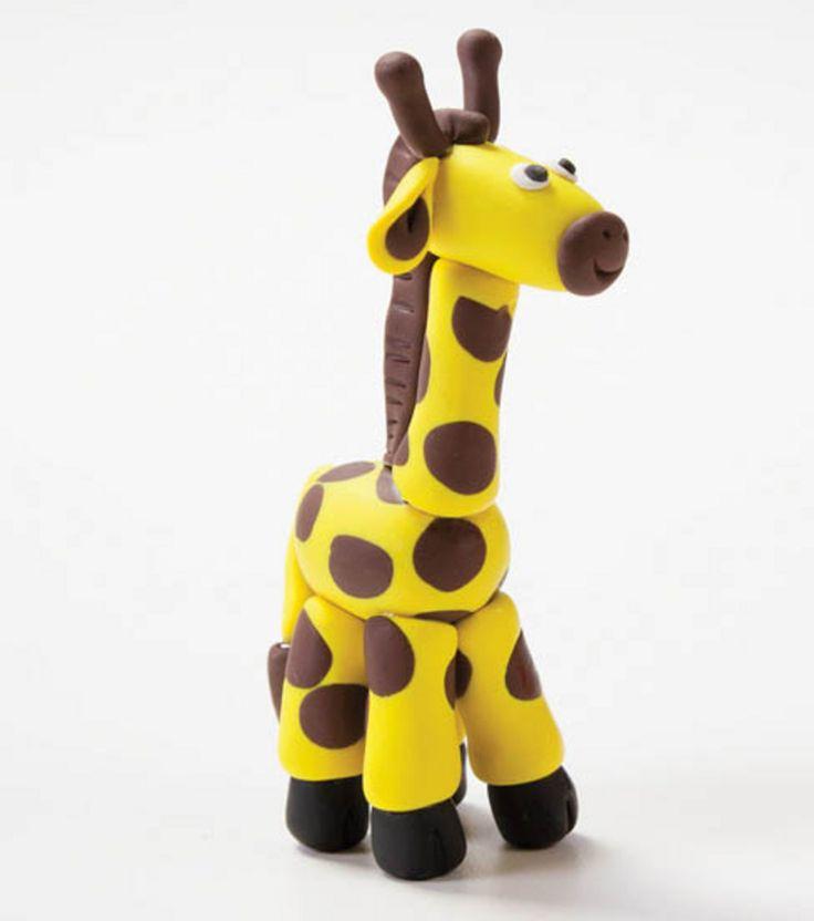 Create A Clay Giraffe Kidscrafts