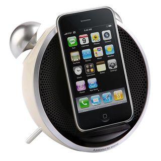 Tick Tock iPhone Alarm Clock at Firebox.com,  £44.99