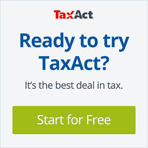 Get the best deal in tax. Start TaxAct free today!