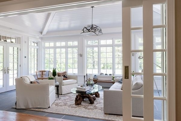 17 Best Images About Sunrooms Off Kitchen On Pinterest