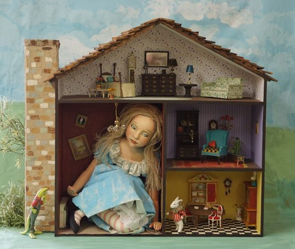 You most definitely remember how the poor Alice felt when she got stuck in the house she couldn't fit in. Description from massmailsoftware.com. I searched for this on bing.com/images