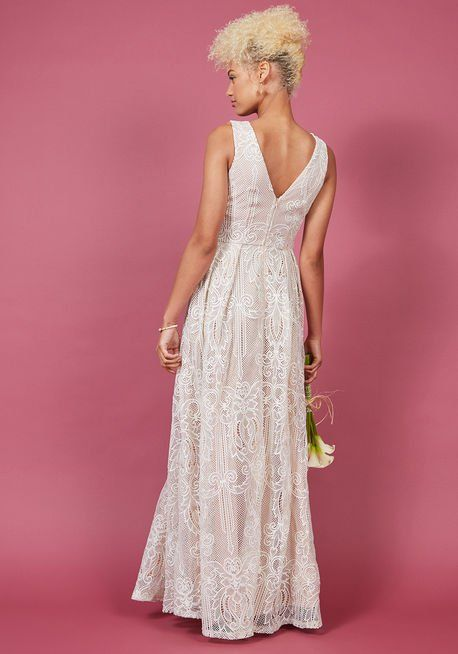 1276215788 Faith in Flawlessness Maxi Dress in Ivory in 2018