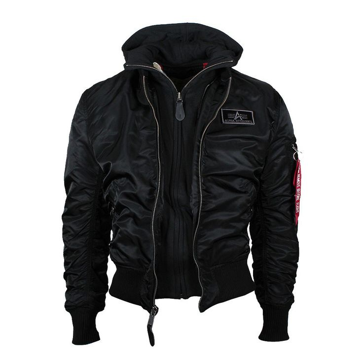 ALPHA Industries MA1 D-Tec Bomberjacke Black coole Männer Jacke Winter Jacken online bestellen bei Mode Freund ab 50€ Versandkostenfrei