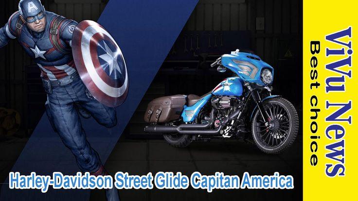 Harley Davidson street phiên bản Capitan America | tin tức Người Việt Vi...
