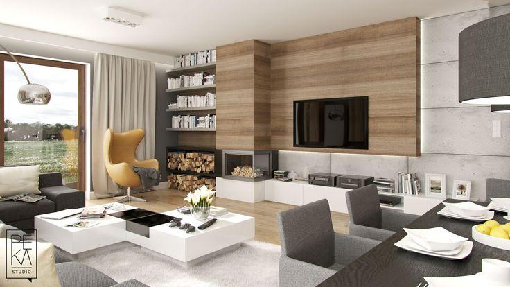 Living room by PEKA STUDIO