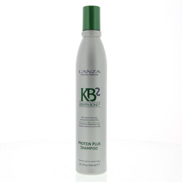 L'Anza Hair Repair KB2 Protein Plus Shampoo Breekbaar Haar 300ml  Description: L'Anza Hair Repair Protein Plus Shampoo.Crèmige op kokosnoot gebaseerde shampoo. Speciaal ontwikkeld voor haar dat chemisch is behandeld of gestresst is door andere invloeden van buitenaf. Voorziet het haar van voedende ingrediënten vitale proteïnen en vocht en herstelt zo de natuurlijke balans van het haar. Het wordt makkelijk in model te brengen krijgt kracht en een mooie glans.Keratin Bond System 2 (KB2)…