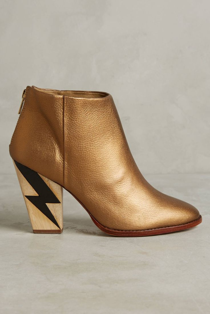 Nina Payne Lightning Heel Rock and Roll Booties