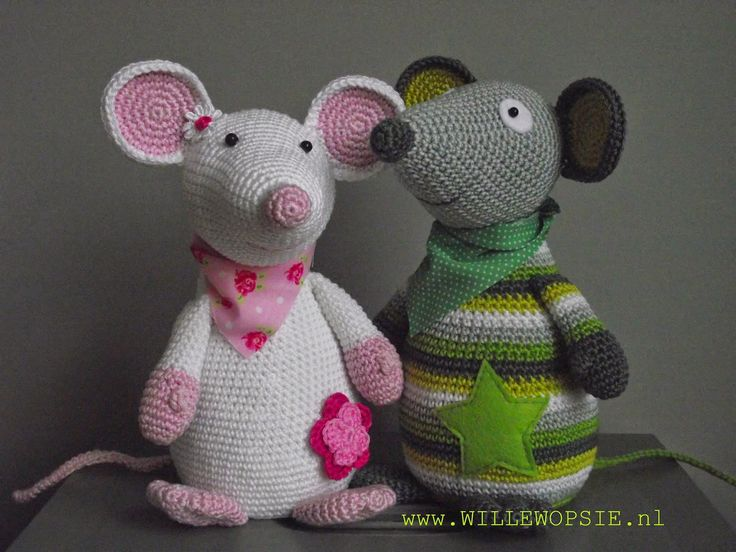Amigurumi Rat : Crochet mouse free amigurumi pattern by amigurumi today