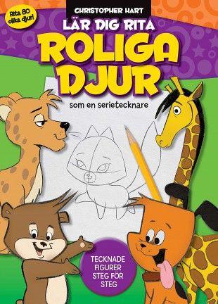 Lär dig rita roliga djur som en seritecknare