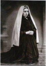 1863 Authentic Photo of St Bernadette.