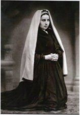 1863 Photo of Saint Bernadette.