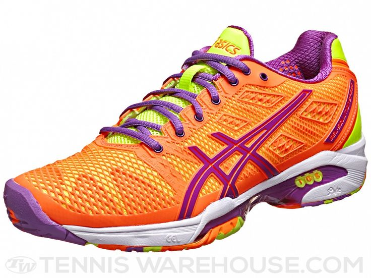 Asics Gel Solution Speed 2 Orange/Lavender Women Shoes