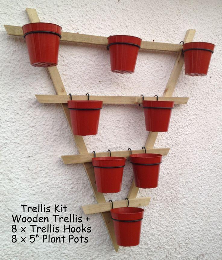 Trellis Hooks Plant Pot Holders Plant Pot Rings To Hang