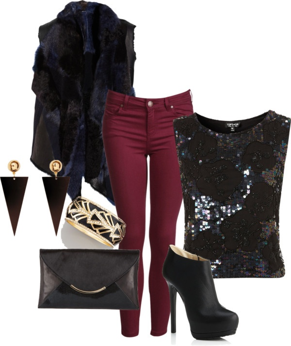 """Winter's Eve Party"" by michtach on Polyvore"