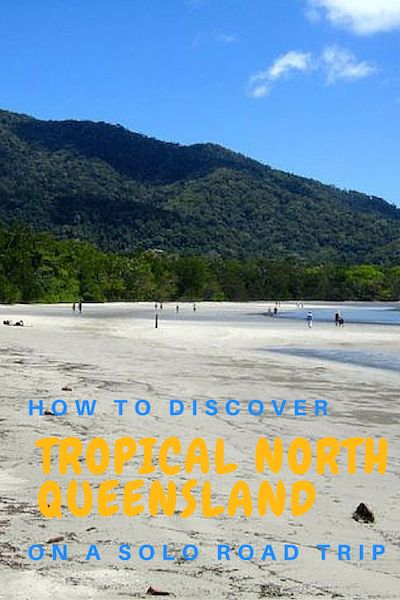 How to discover Tropical North Queensland on a solo road trip! This is my solo adventure from camping alone to road tripping across the most diverse tropical region of Australia.