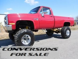 1985 Chevrolet C/K 10 Series Lifted Truck