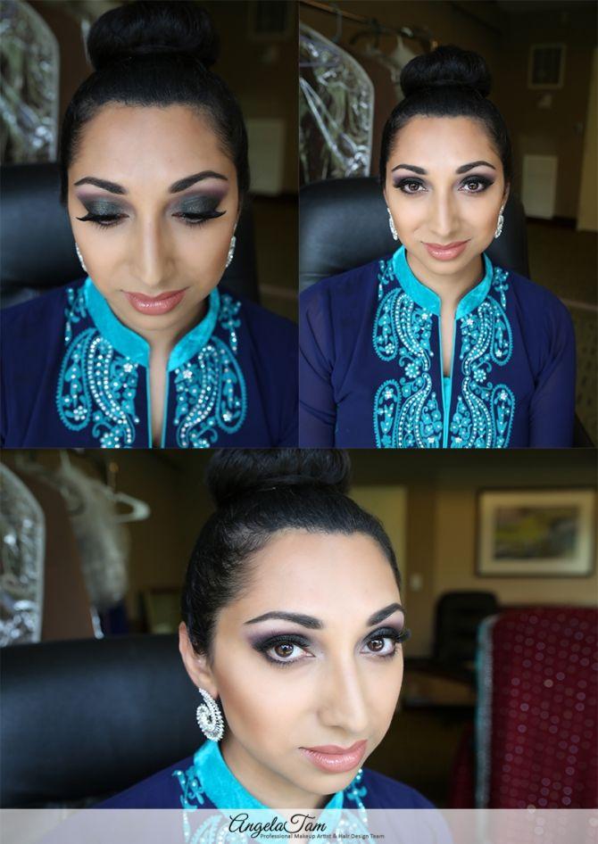 Orange County Indian Wedding South Asian Bride Makeup Artist And Hair Design Team