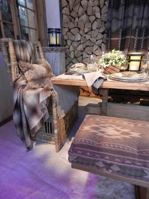 *THE ESSENCE OF THE GOOD LIFE™*: RALPH LAUREN SKI-LODGE TABLE CHIC